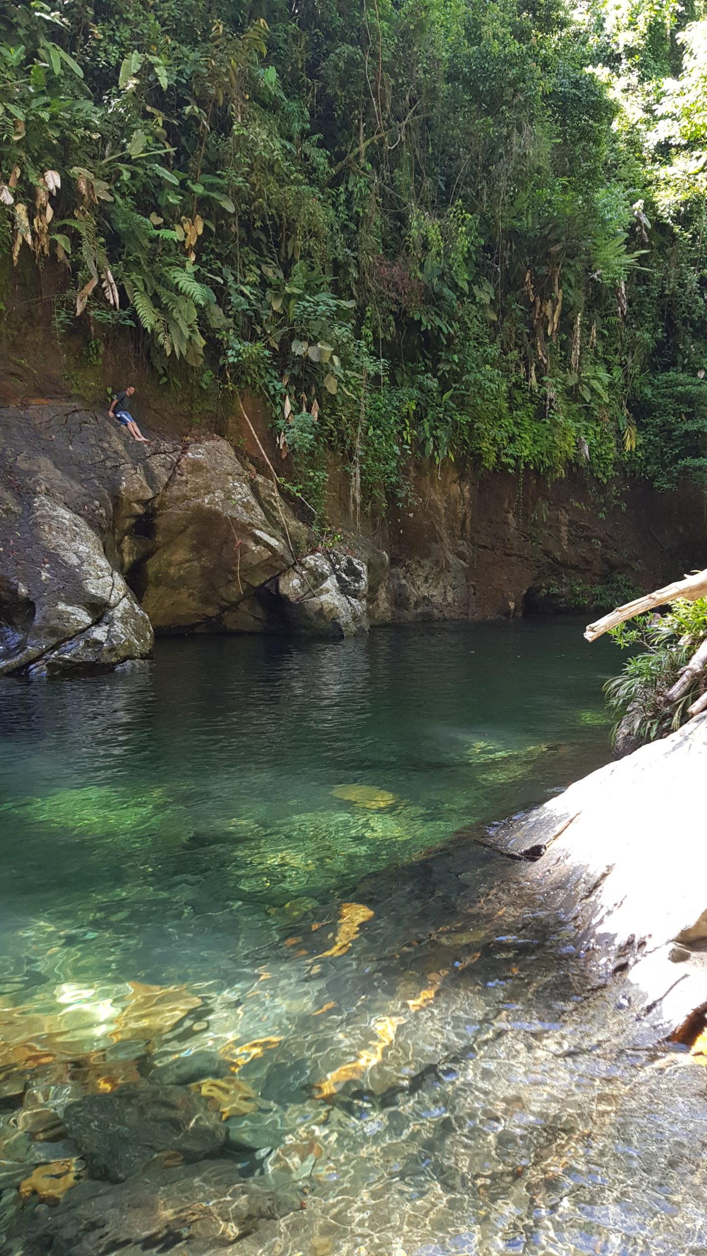 Ausflug zum Rio Melcocho